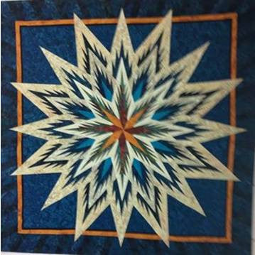 Feathered Star Quilt Kit