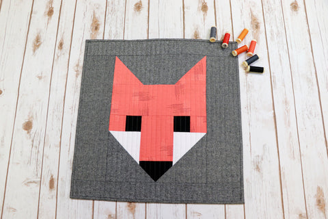 First Quilt - Fancy Fox - January 25