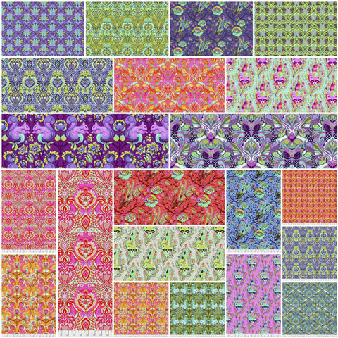 Tula Pink All Stars -- Fat Quarter Bundle -- Focals  -- Pre-Order, Arrives March 2018