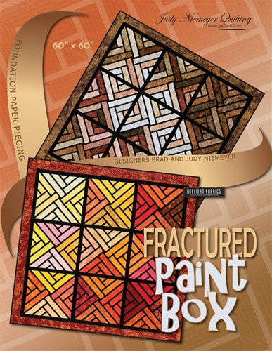 Fractured Paint Box Quilt Pattern