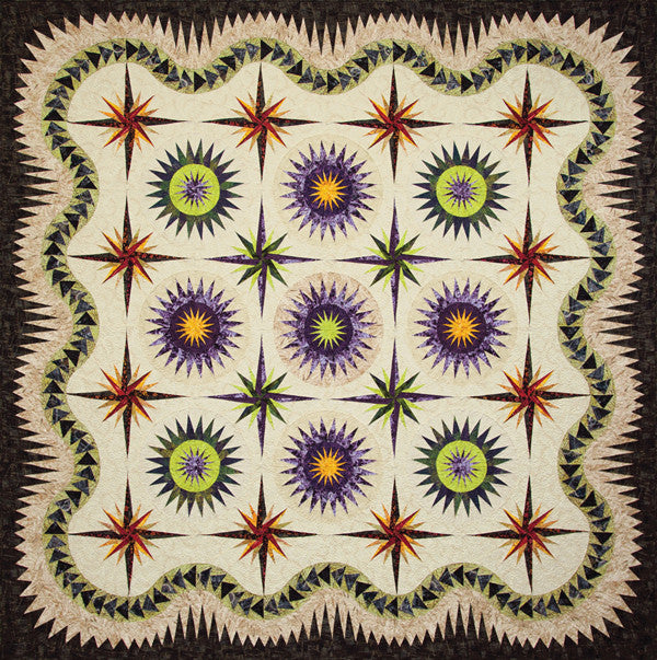 Frosted Thistle Quilt Kit