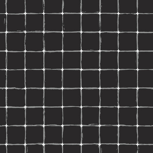 Grid Negative - Grid Fabric Collection - Katarina Roccella