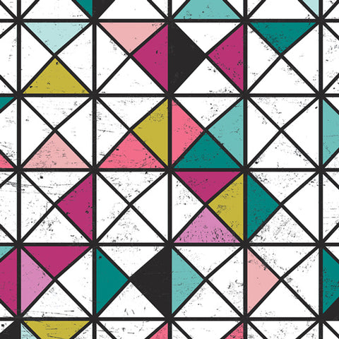 Vitrine Gems - Grid Fabric Collection - Katarina Roccella