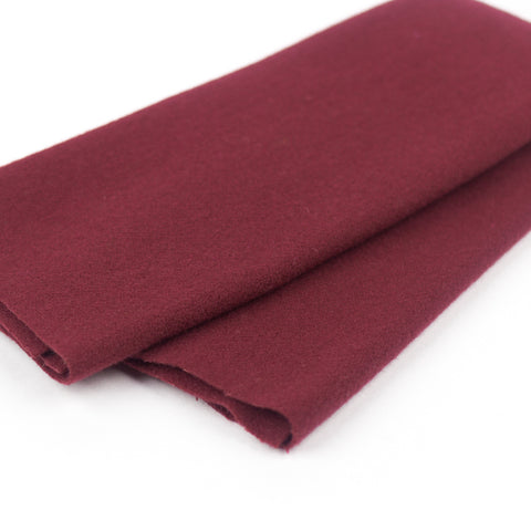 Sue Spargo Wool Fabric - Garnet - Fat 1/8th
