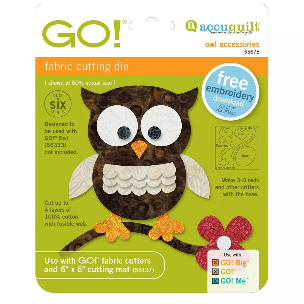 Go! Owl Accessories Die