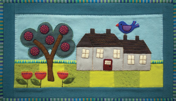 Sue Spargo's House Table Runner Kit - Wool Felt Applique