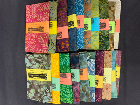 Batik Mystery Fat Quarter Bundle - Sale Priced!