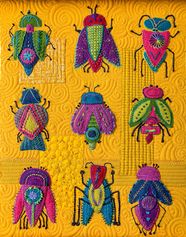 Needle Beetle Quilt Kit