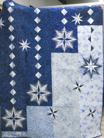 Ice Crystals Quilt Kit