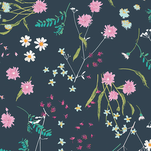 Lavish Fabric - Blossom Swale Depth