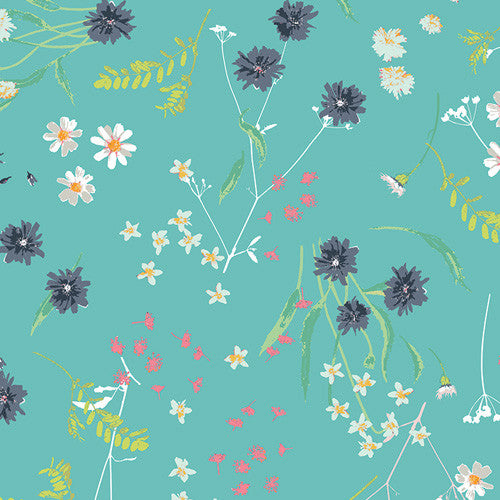 Lavish Fabric - Blossom Swale Calm