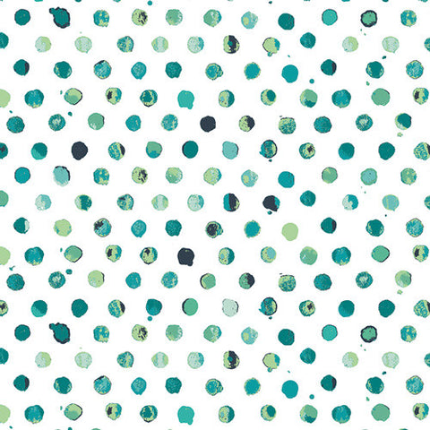 Lavish Fabric - Dots Tile Fresco