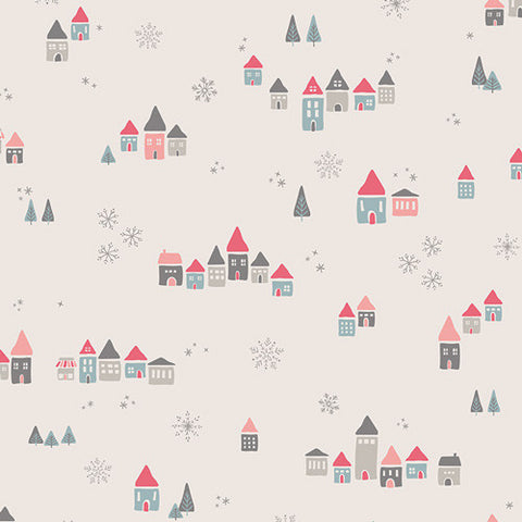 Little Town Fabric