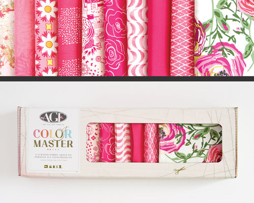 AGF Colour Masters - Life is Pink Fat Quarters
