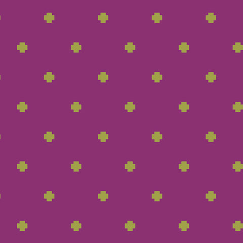 Positivity Berry - Matchmade Fabric Collection - Pat Bravo