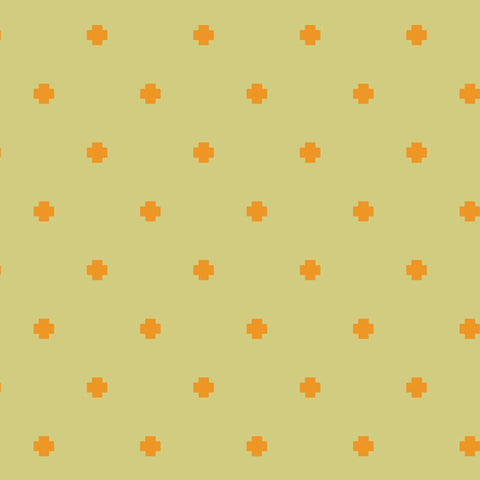 Positivity Gold - Matchmade Fabric Collection - Pat Bravo