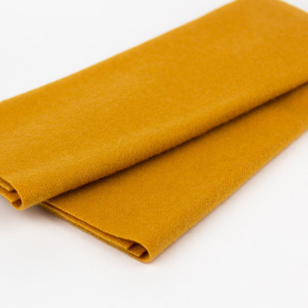 Sue Spargo Wool Fabric - Mango - Fat 1/8th