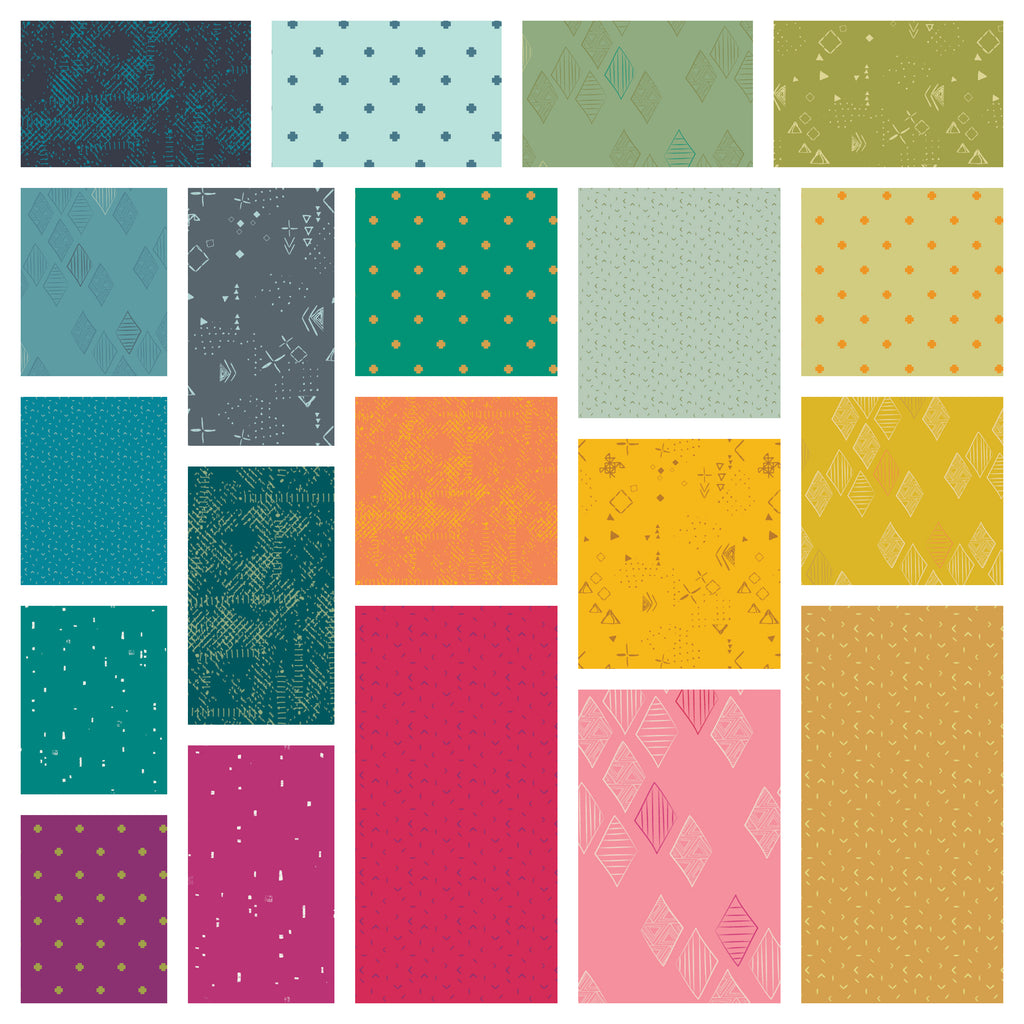 Matchmade Fabric Collection Bundle - Pat Bravo -20 Fabrics - Pre-Order, Arrives January/February 2019
