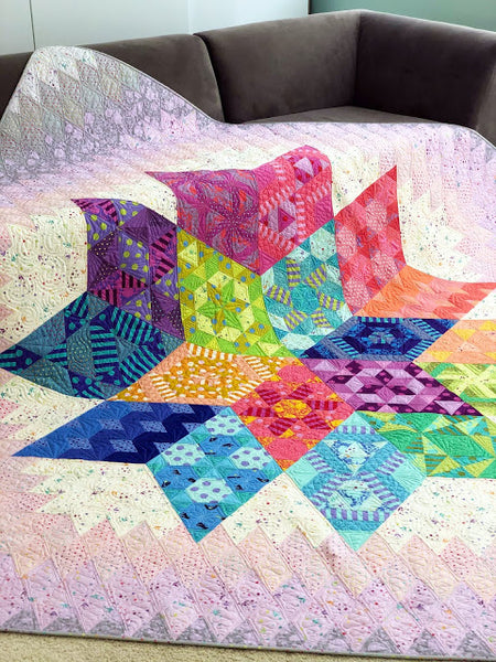 Tula Pink Nebula Block of The Month - PreOrder, Ships January 2021