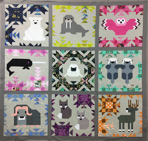 North Stars Quilt Kit - Elizabeth Hartman - QFTH Exclusive