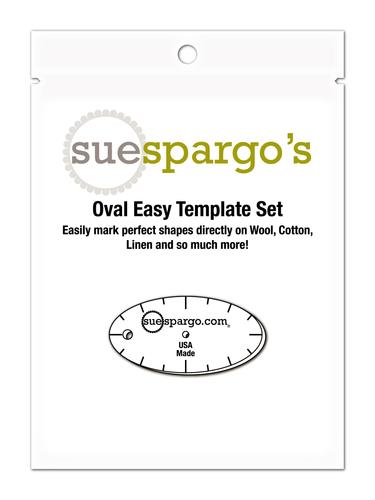 Sue Spargo's Oval Easy + Creative Stitching Templates