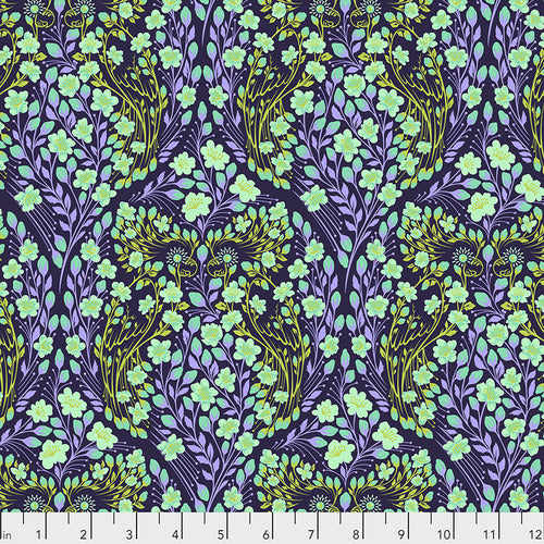 Tula Pink's Monkey Wrench Fabric - Parrot Prattle Dragon Fruit