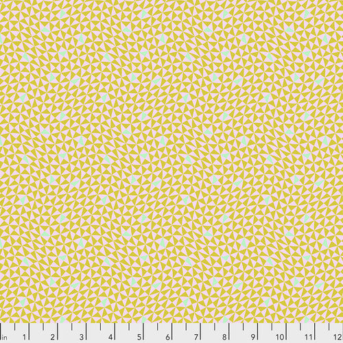 Tula Pink's Monkey Wrench Fabric - Hourglass Mango