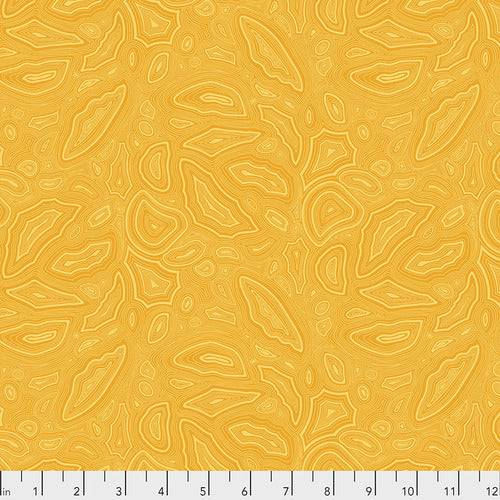 Tula Pink's True Colors Fabric - Mineral Amber