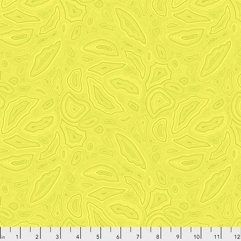 Tula Pink's True Colors Fabric - Mineral Citrine
