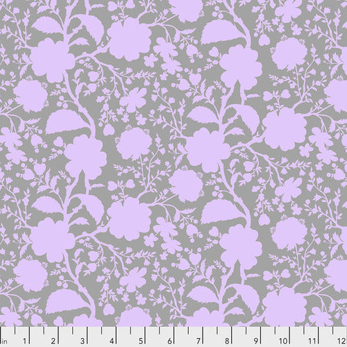 Tula Pink's True Colors Fabric - Wildflower Hydrangea - Special PreOrder Pricing - Ships July 2020