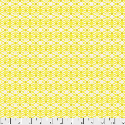 Tula Pink's True Colors Fabric - Hexy Sunshine