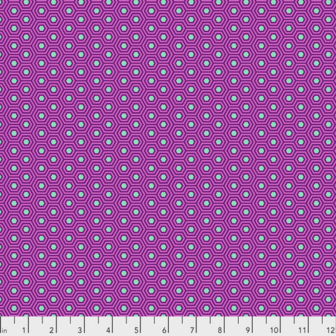 Tula Pink's True Colors Fabric - Hexy Thistle