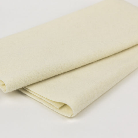 Sue Spargo Wool Fabric - Parchment - Fat 1/8th