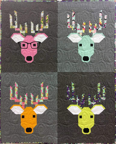 Dwight the Deer Quilt Kit