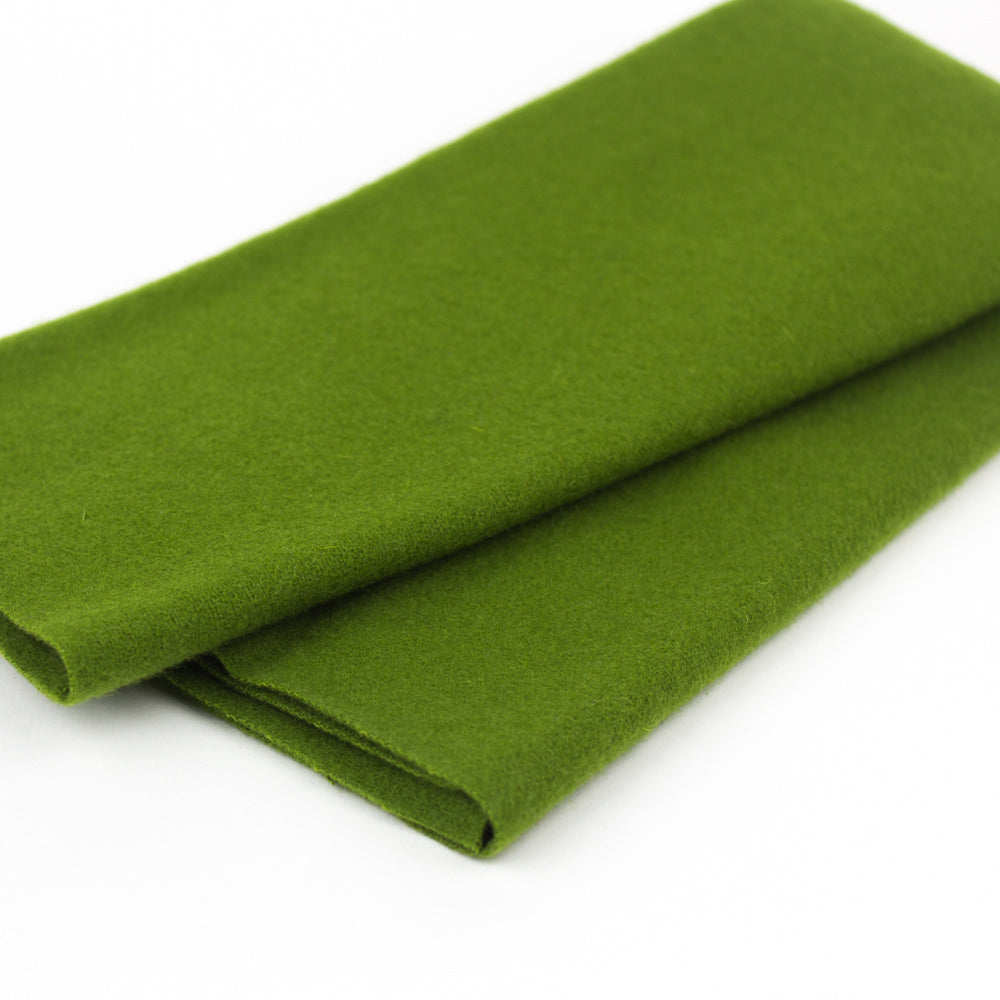 Sue Spargo Wool Fabric - Pine Needle - Fat 1/8th