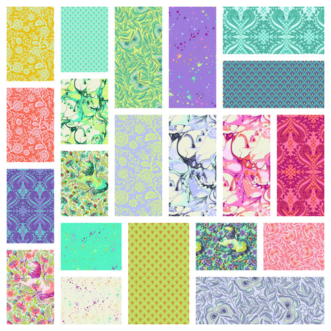 Tula Pink's Pinkerville Fabric -21 Fabric Bundle - Pre-Order, arrives March 2019