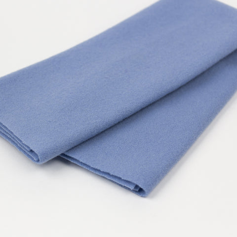 Sue Spargo Wool Fabric - Powder Blue - Fat 1/8th