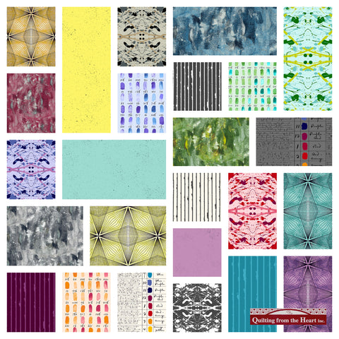 Giucy Giuce's Prism Fabric Bundle - PreOrder, Arrives June 2020