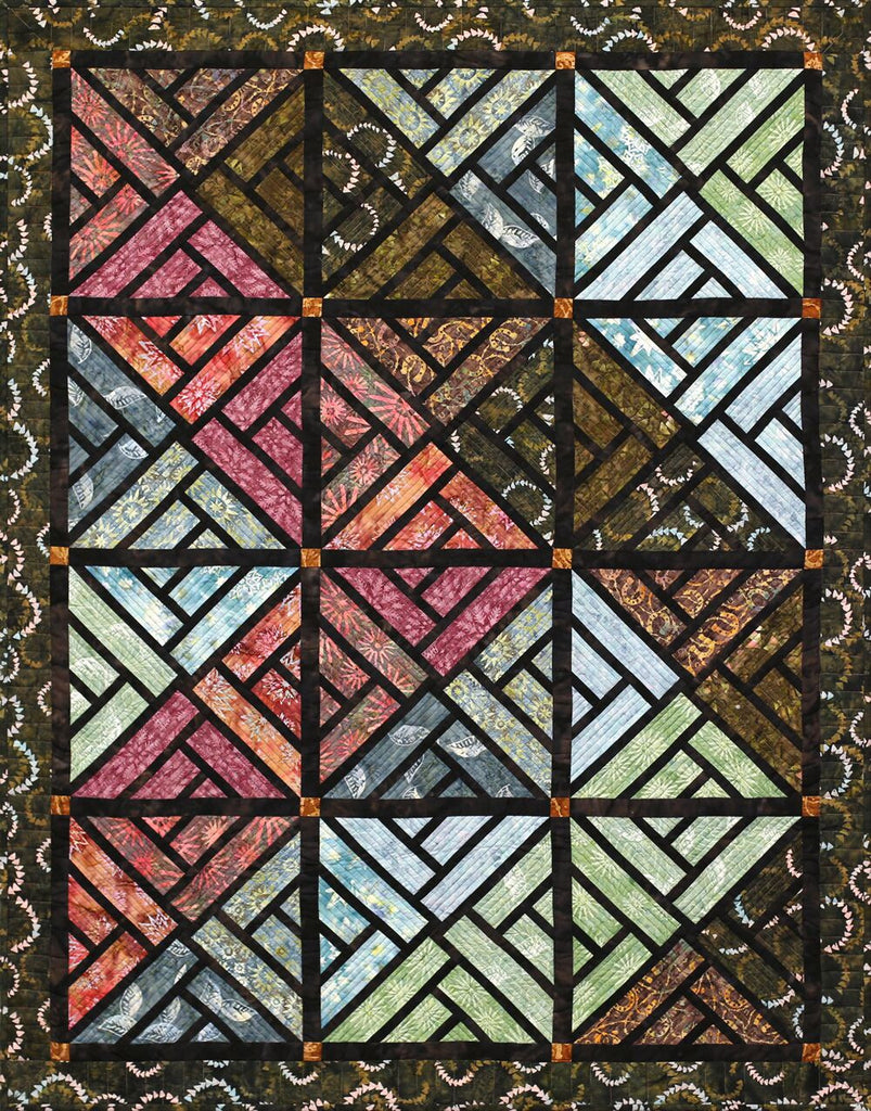 Quiltworx Stained Glass Window Pattern