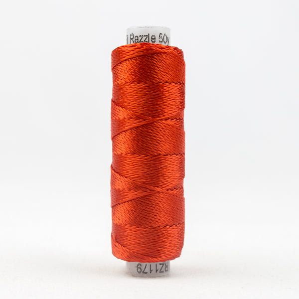 Sue Spargo's Solid Razzle Thread - 100% Rayon Thread - RZ1179 - Grenadine
