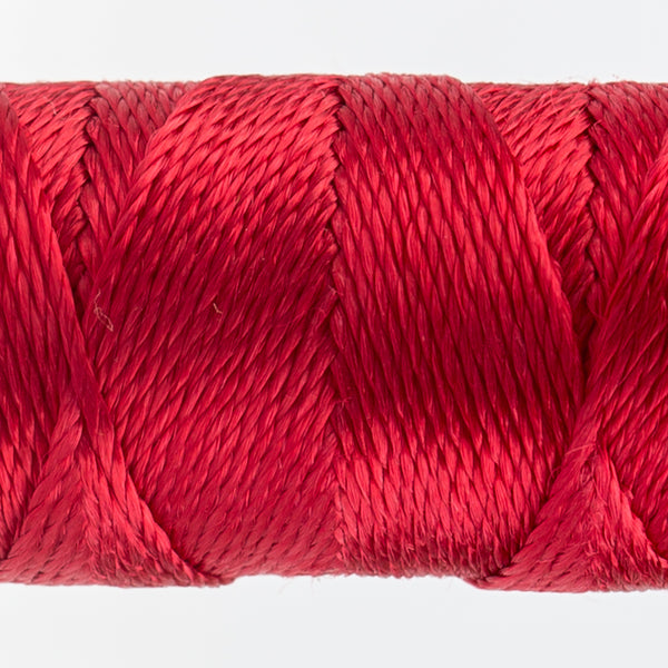Sue Spargo's Solid Razzle Thread - 100% Rayon Thread - RZ1184 - Mars Red