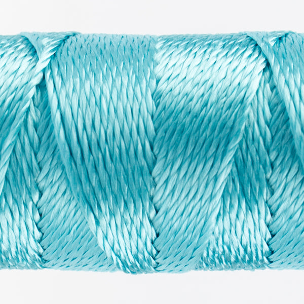 Sue Spargo's Solid Razzle Thread - 100% Rayon Thread - RZ3130 - Aqua Sea