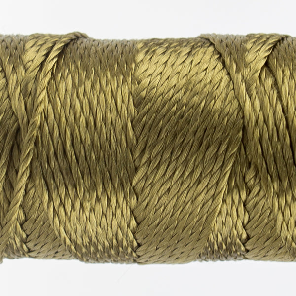 Sue Spargo's Solid Razzle Thread - 100% Rayon Thread - RZ6135- Capers