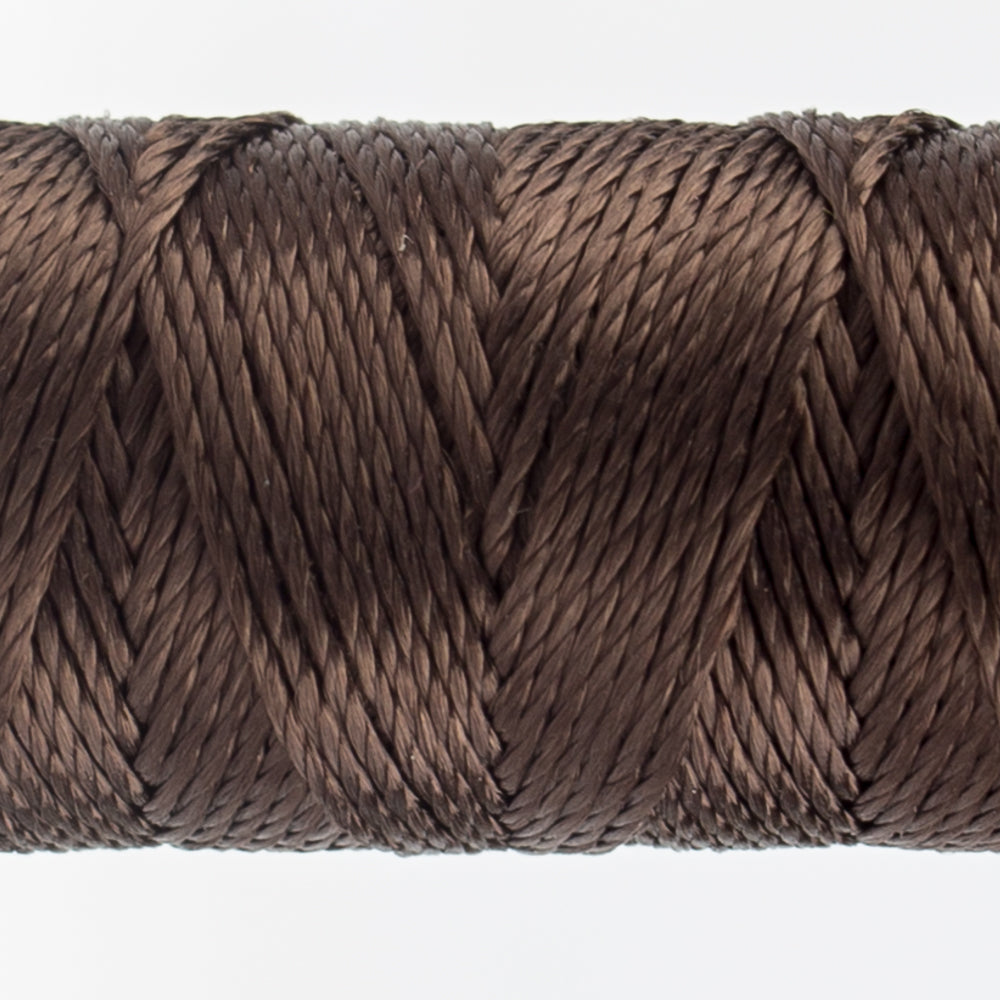 Sue Spargo's Solid Razzle Thread - 100% Rayon Thread - RZ7124 - Chestnut