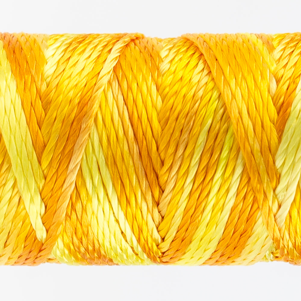 Sue Spargo's Variegated  Razzle Thread - 100% Rayon Thread - RZM01 - Sundress