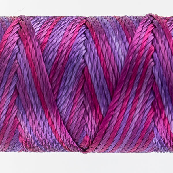 Sue Spargo's Variegated  Razzle Thread - 100% Rayon Thread - RZM04 - Fandango