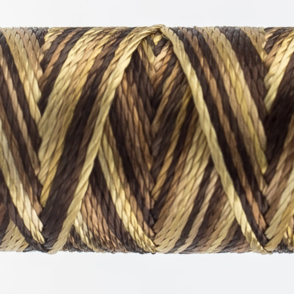 Sue Spargo's Variegated  Razzle Thread - 100% Rayon Thread - RZM11 - Dockside
