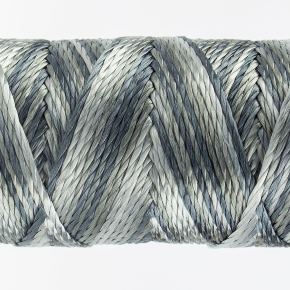 Sue Spargo's Variegated  Razzle Thread - 100% Rayon Thread - RZM12 - Hook and Line