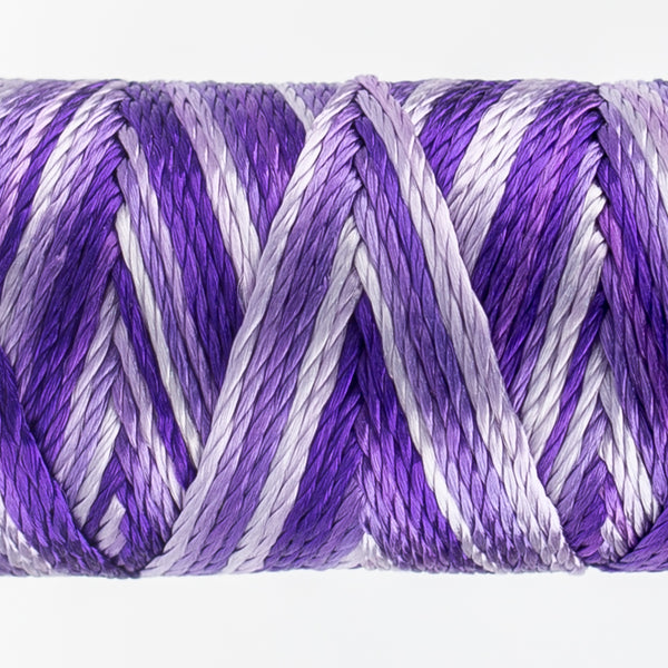 Sue Spargo's Variegated  Razzle Thread - 100% Rayon Thread - RZM16 - Are You Jelly?
