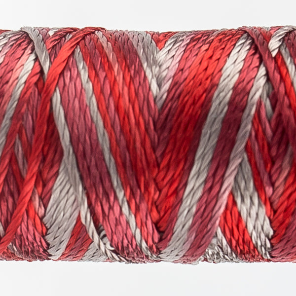 Sue Spargo's Variegated  Razzle Thread - 100% Rayon Thread - RZM17 - Sequin Sash